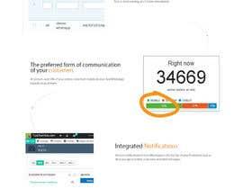 Nro 11 kilpailuun Design a Wordpress Mockup käyttäjältä Ganeshdas