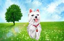 Illustration Inscrição no Concurso #32 de crreate a cartoon illustration of my dog for a childrens book