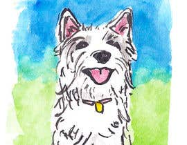 nº 25 pour crreate a cartoon illustration of my dog for a childrens book par alexismarkavage