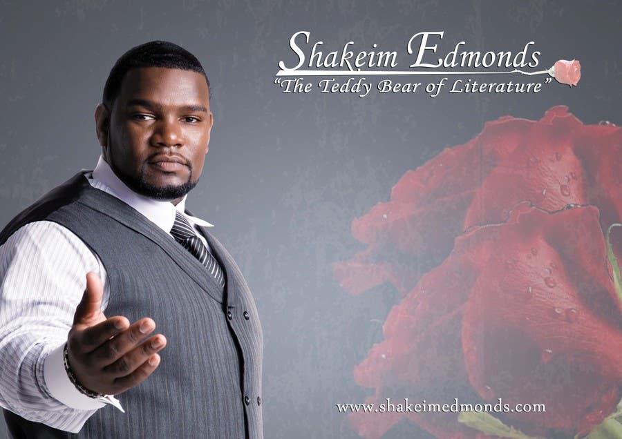"""Inscrição nº                                         44                                      do Concurso para                                         Design a Flyer for Author """"Shakeim Edmonds"""""""