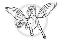 Illustration Inscrição do Concurso Nº13 para Draw a Pegasus