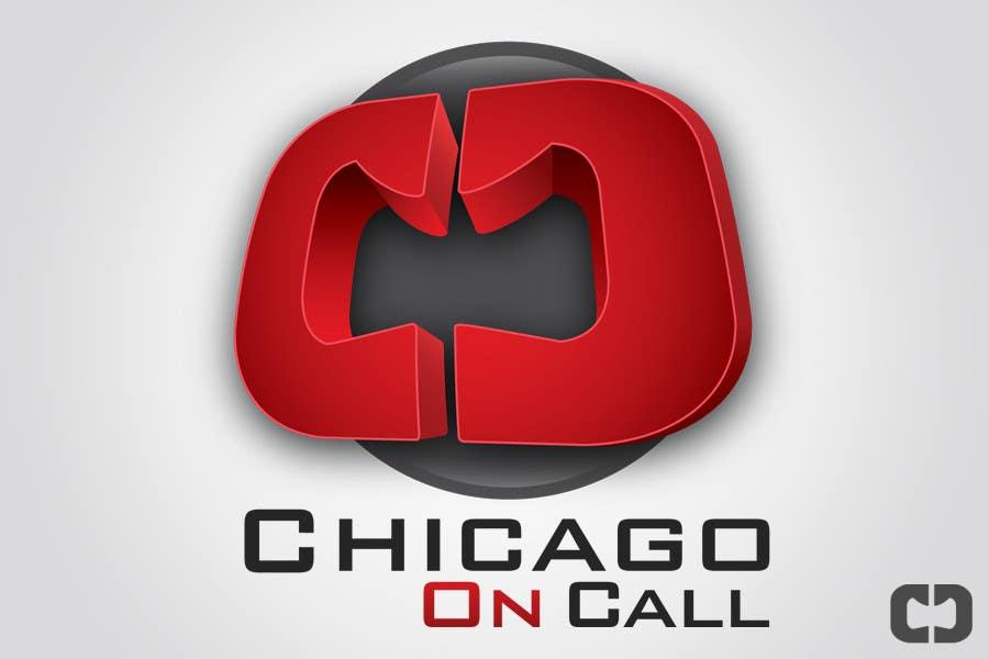 Kilpailutyö #144 kilpailussa Logo Design for Chicago On Call