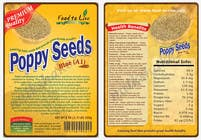 Contest Entry #8 for Create Print and Packaging Designs for a Pack of Poppy Seeds