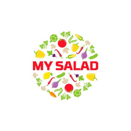 Entry 18 By Roshei For My Salad Logo Freelancer