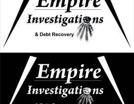 #42 para Graphic Design for Empire Investigations & Debt Recovery de Sihota