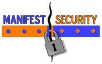 """""""Manifest Security"""" Logo için 15 numaralı Graphic Design Yarışma Girdisi"""