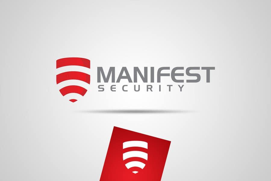 """Inscrição nº 65 do Concurso para """"Manifest Security"""" Logo"""