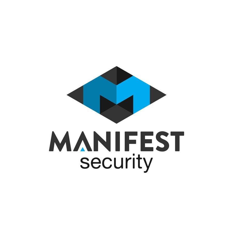 """""""Manifest Security"""" Logo için 14 numaralı Yarışma Girdisi"""