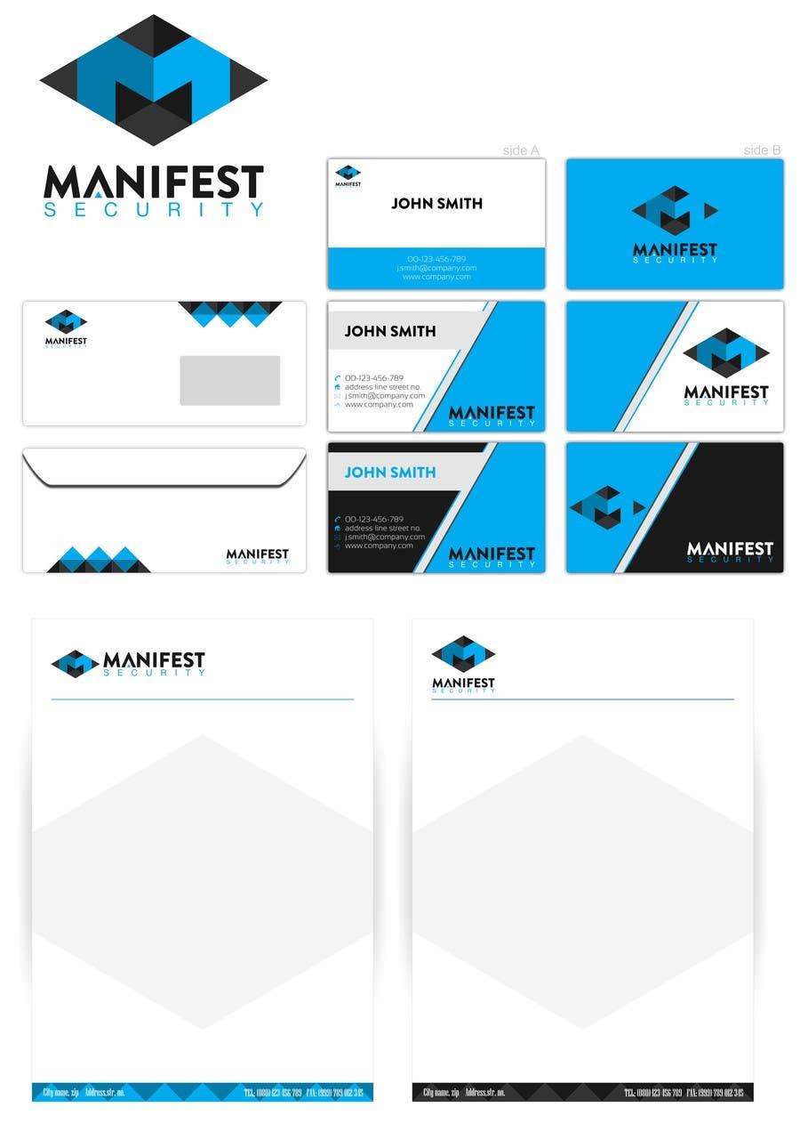 """Inscrição nº 45 do Concurso para """"Manifest Security"""" Logo"""