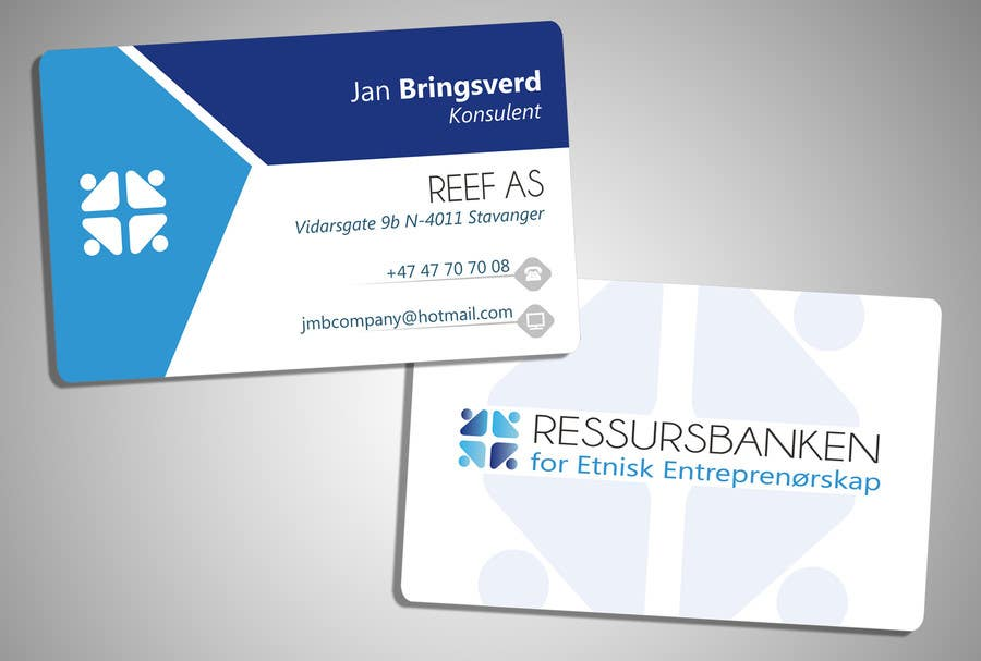 Entry 6 By Rainersuizo17 For Design Business Card For Non Profit