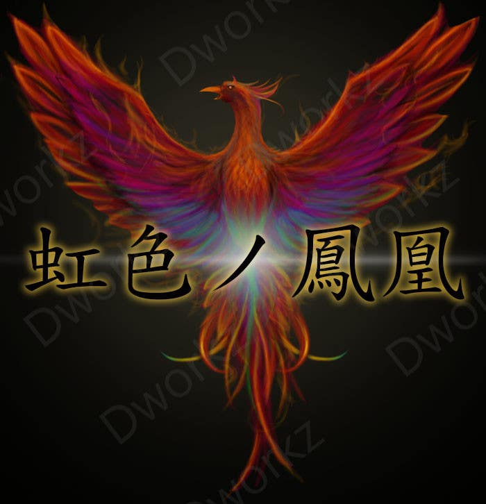 #15 for Looking for someone, who can draw a phoenix in spectral colours for profile picture by dworkz