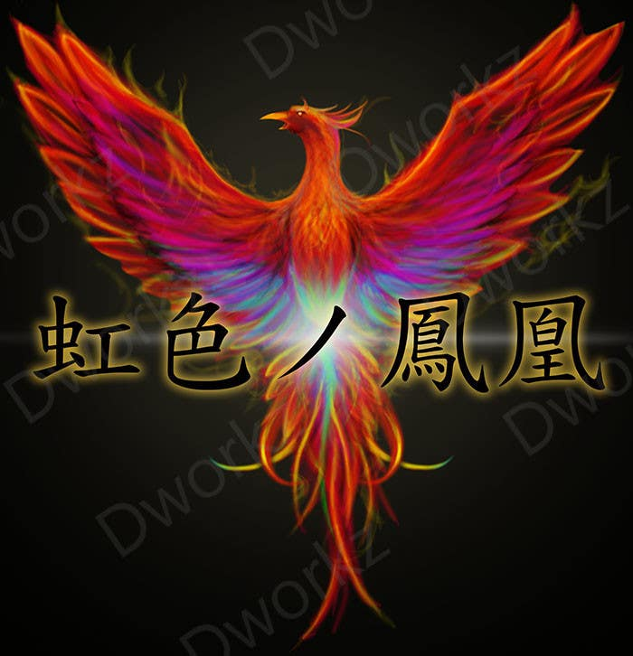#16 for Looking for someone, who can draw a phoenix in spectral colours for profile picture by dworkz