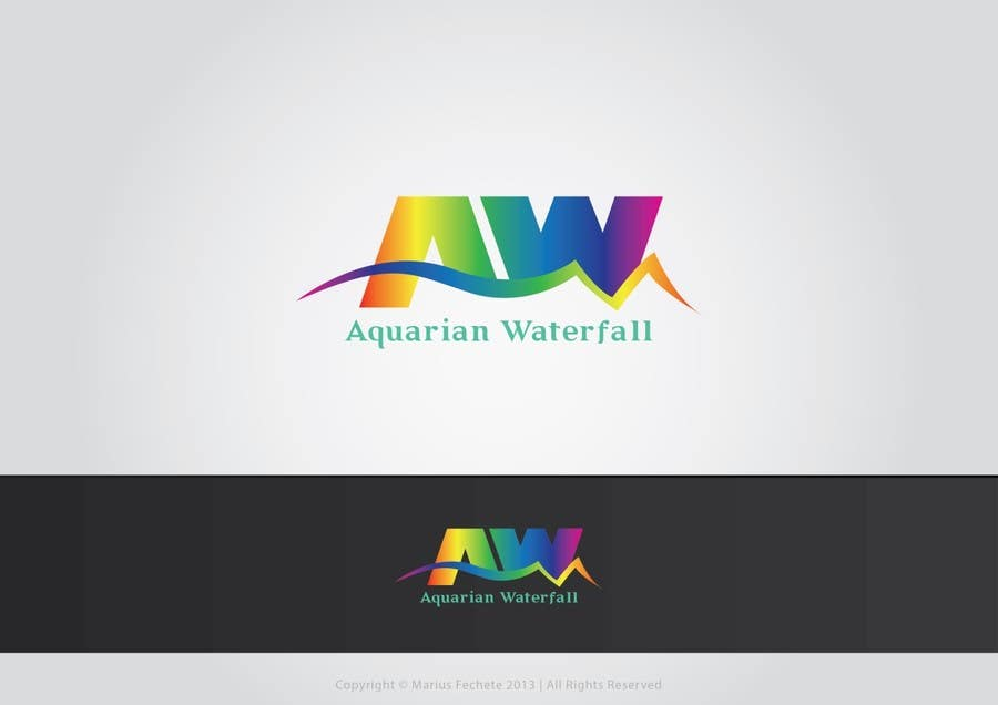 Proposition n°77 du concours Design a Logo for Aquarian Waterfall