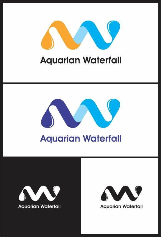 #63 for Design a Logo for Aquarian Waterfall by lanangali
