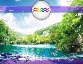 sanart tarafından Design a Website Mockup for Aquarian Waterfall için no 16