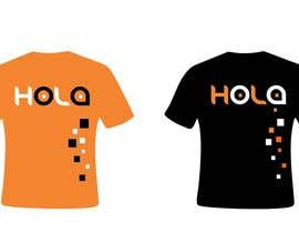 #220 para Design a T-Shirt - Spanish Hello - Hola por tenstardesign