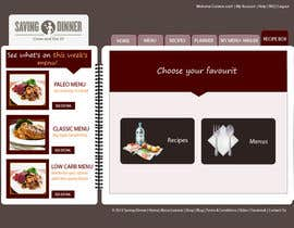 HBPC tarafından Design a Website Mockup for our Premium Menu-Mailer website. için no 28