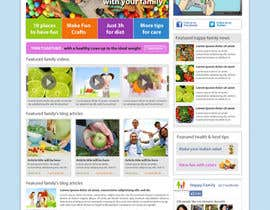 #7 dla Website Design for Happy Family e-zine przez dragnoir
