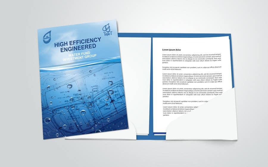Inscrição nº                                         87                                      do Concurso para                                         Folder Graphic Design for Water Technology Exhibition