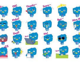#21 for Design stickers for Freelancer chat [Multiple Winners] by karmachela