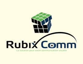 #58 for Design logo Rubix Comm by hatimou