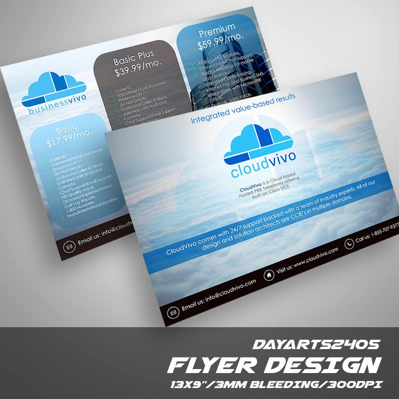 entry 39 by dayarts2405 for design a flyer freelancer