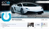 Contest Entry #21 for Design a Facebook landing page for ECU Technologies