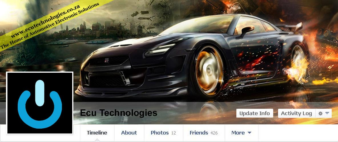#14 for Design a Facebook landing page for ECU Technologies by danapopa88