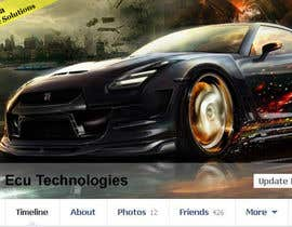 #14 cho Design a Facebook landing page for ECU Technologies bởi danapopa88