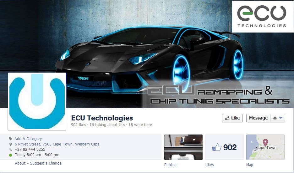 #17 for Design a Facebook landing page for ECU Technologies by jinupeter