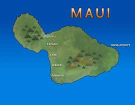#16 para I need some Graphic Design for maui map por windwalker84