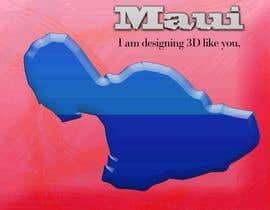 #7 para I need some Graphic Design for maui map por sanart