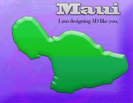 #11 para I need some Graphic Design for maui map por sanart