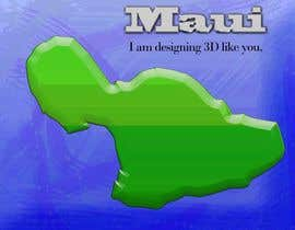 #12 cho I need some Graphic Design for maui map bởi sanart