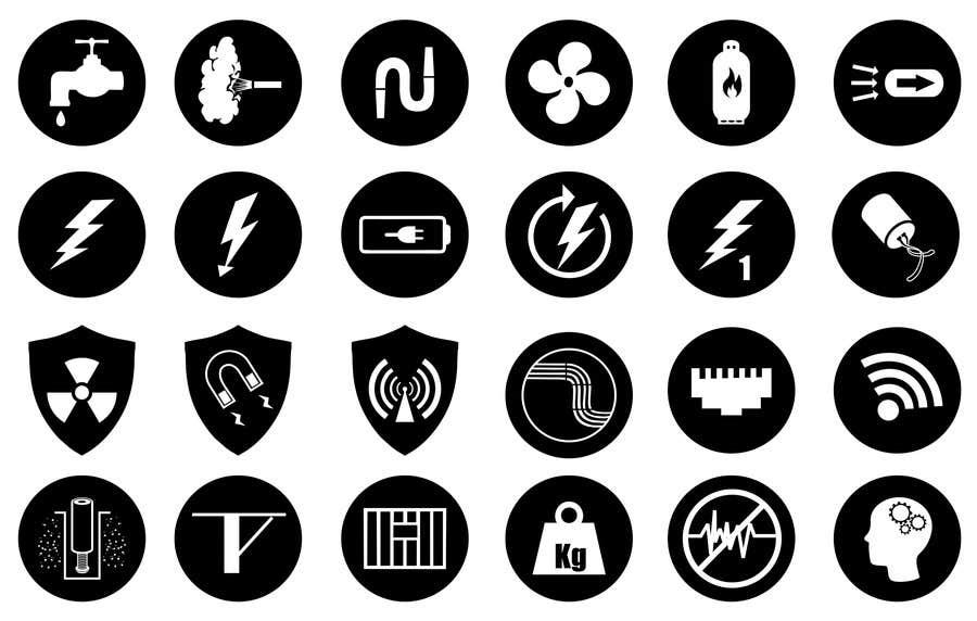Inscrição nº 25 do Concurso para Icons to represent Architectural Design Criteria
