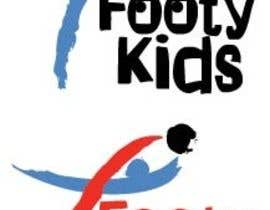#31 para Design a Logo for FootyKids por kiekoomonster