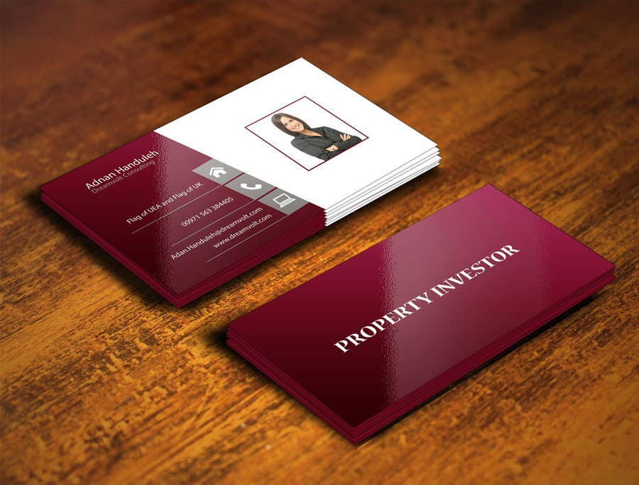 Entry 55 by gohardecent for personal business cards design for a contest entry 55 for personal business cards design for a professional investor colourmoves