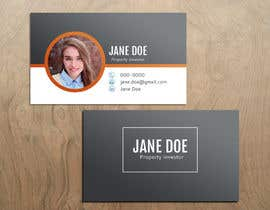 #22 for Personal Business Cards - design for a professional investor af OlgaRadzikh