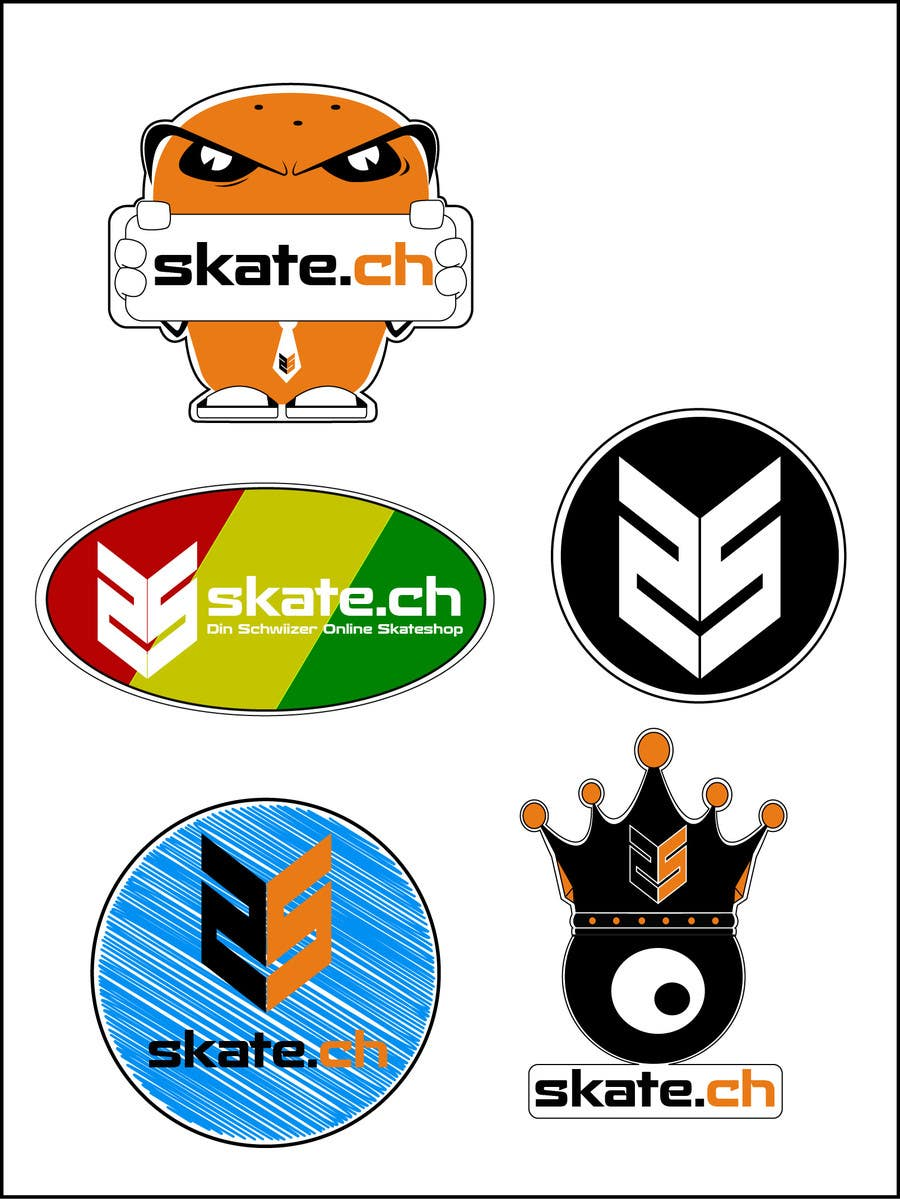 Contest entry 12 for design 5 sticker designs with our logo
