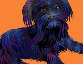 #23 cho Affenpinscher dog converted to Pop Art bởi sophialotus