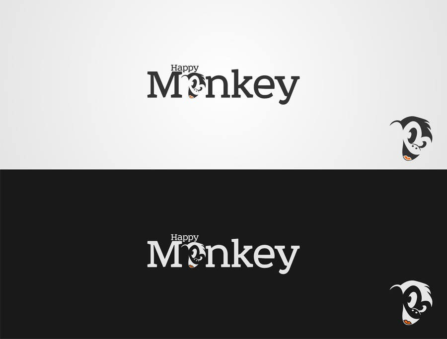 #61 for Design eines Logos for Company Happy Monkey by entben12