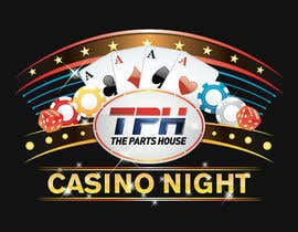 #84 untuk Design a Las Vegas/Casino Night logo for an Open House oleh soulflash