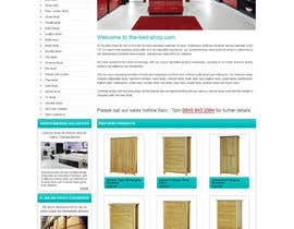 #31 for Website Design for The Bed Shop (Online Furniture Retailer) af herick05