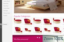 Graphic Design Contest Entry #4 for Website Design for The Bed Shop (Online Furniture Retailer)