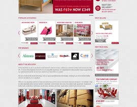 #35 pentru Website Design for The Bed Shop (Online Furniture Retailer) de către Leoda