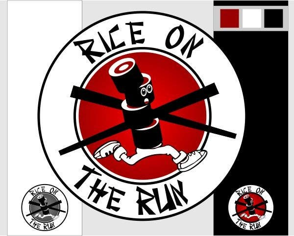 #23 for Rice On The Run logo design by ben2ty