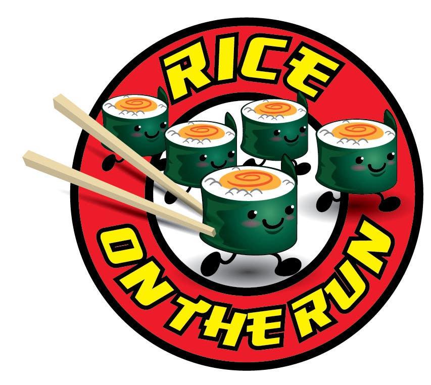 #37 for Rice On The Run logo design by kiekoomonster