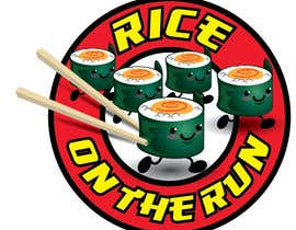 #37 untuk Rice On The Run logo design oleh kiekoomonster