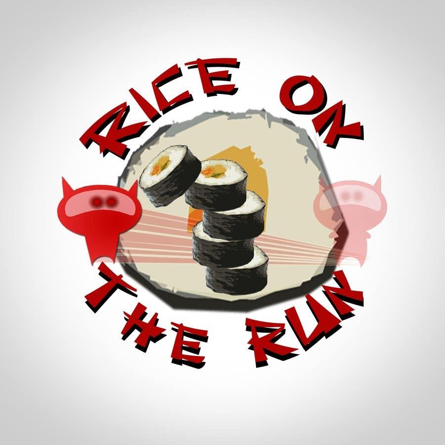 #26 for Rice On The Run logo design by bunakiddz