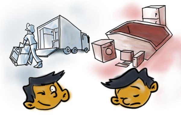 #33 for Quick Small cartoon by nestoralmeida